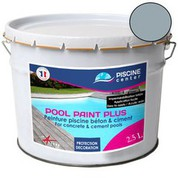 Peinture piscine Pool Paint Plus gris 2,5 L