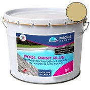 Peinture piscine Pool Paint Plus sable 10 L
