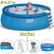 Piscine autoportante Easy Set Intex ronde  Ø 4.57 x 1.22 m