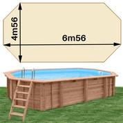 Woodfirst Original octo allongée 656 x 456 x 130 sable