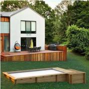 piscine bois urbaine en kit proswell piscine center net. Black Bedroom Furniture Sets. Home Design Ideas