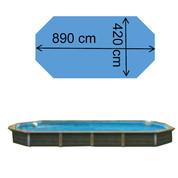 Piscine Kythnos 8,90 x 4,20 x 1,47 m