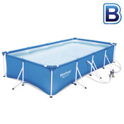 Piscine tubulaire rectangulaire Steel Pro Frame 3.00 x 2.01 x H.066 m