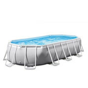 Piscine tubulaire ovale Prism Frame 4.00m x 2.00m x 1.00 m