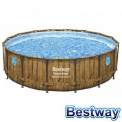 Piscine tubulaire Power Steel Swim Vista Pool Ø4.88xH.1.22m