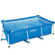 Piscine tubulaire rectangle Metal Frame Junior Intex 450 x 220 x 84 cm