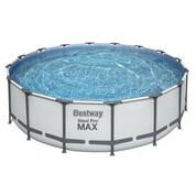 Piscine tubulaire ronde Steel Pro Max Ø4.88 x 1.22 m