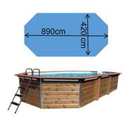 Piscine waterclip Calayan 890 x 420 x 129 cm