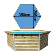 Piscine waterclip Cebu Ø350 x H.111 cm