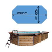 Piscine Waterclip Imbros 890 x 420 x 129 cm