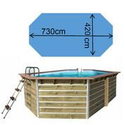 Piscine waterclip Siayan 730 x 420 x 129 cm