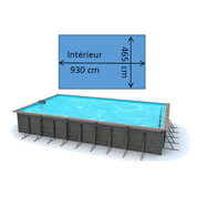 Piscine waterclip Sikinos 9,90 x 4,80 x 1,47 m