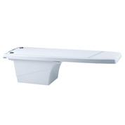Plongeoir Dynamic flexible blanc 1.20 m