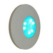 Projecteur LED universel 30W RGBW 1150 lm enjoliveur gris