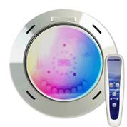 Projecteur LED piscine bois 27 W RGB 1100 lm avec télécommande