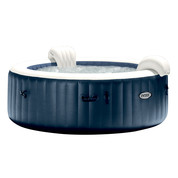 Pure Spa 6 places Navy rond - Bulles, LED couleur
