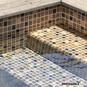 PVC armé Cyrus sable - 41.25 m² x 4 soit 165 m²