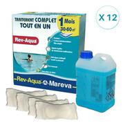 REV-AQUA 12 mois pour piscine 30/60 m3