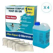 REV-AQUA 4 mois pour piscine 30/60 m3