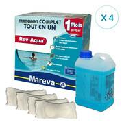 REV-AQUA 4 mois pour piscine 60/90 m3