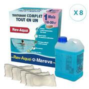 REV-AQUA 8 mois pour piscine 20/30 m3