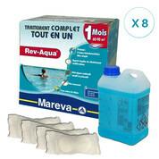 REV-AQUA 8 mois pour piscine 60/90 m3
