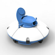 Robot aspirateur de piscine Fresbee bleu
