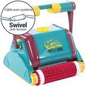 Robot électrique Dolphin 2001 avec Swivel, brosses combinées