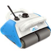 Robot piscine Poolbird avec coffret électrique, batterie flottante & chariot