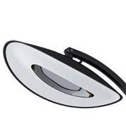 Rotule noire lampe chauffante Hotdoor - haut/bas