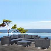 Salon bas de jardin Ibiza en Oléfine
