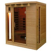 Sauna Infrarouge Hemlock 3 places