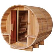 Sauna extérieur tonneau Red Cedar - 2/4 personnes - 180 x 182.8 x 191.4 cm