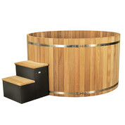 Spa en bois red cedar premium 5/7 places 2140x1045