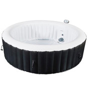Spa gonflable rond 4 personnes 180x70