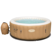 Palm Spring 4/6 places rond beige - Bulles Airjets