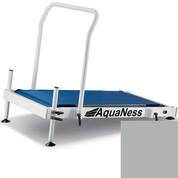 Tapis de marche aquatique Aquaness T1 gris alu