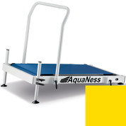 Tapis de marche aquatique Aquaness T1 jaune