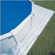 Tapis de sol Gré 6.50 x 6.50 m - 110 gr/m²