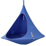 Tente suspendue/Hamac Double bleu