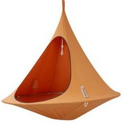 Tente suspendue/Hamac Double orange