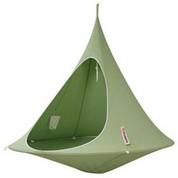 Tente suspendue/Hamac Double verte