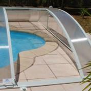Trappe pour abris piscine bas clair