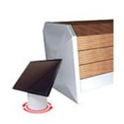 Volet piscine banc bois solaire oclair