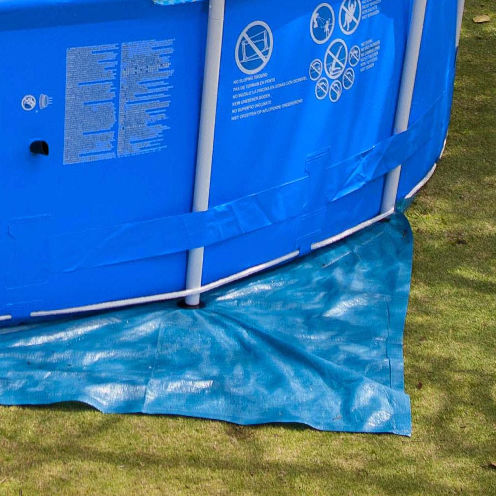 Tapis piscine Intex hors-sol 10 à 10 cm