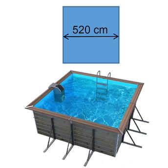 Piscine solta 5,20 x 5,20 x 1,47 m