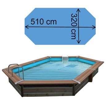 Piscine Tasos 5,10 x 3,20 x 1,47 m